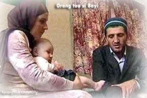 Bayi Qur'an orang tua
